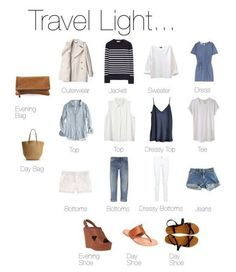 I love the light and breezy version of this version of 'Travel Light' perfect capsule travel wardrobe. Looks Style, Style Me, Mode Ab 50, Look Fashion, Womens Fashion, Nail Fashion, Quoi Porter, Travel Wardrobe, Capsule Wardrobe Summer