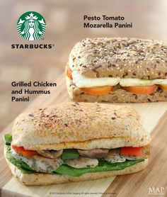 Lunch menu for Starbucks Indonesia