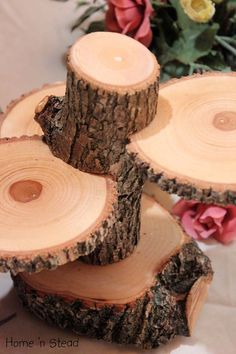 3-tiered Rustic Wedding Decor Tree Mason Jar / Candle Stand Table Center Piece…