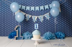 Trendy baby first birthday photography smash cakes 1st Birthday Cake Smash, Baby Boy First Birthday, Birthday Boys, Boy Cake Smash, Birthday Ideas, 1st Birthday Decorations Boy, Cupcake Smash Cakes, Cake Smash Backdrop, Cupcake Party