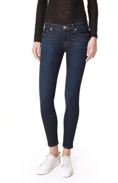 7 for all mankind THE SKINNY B(AIR) RINSED INDIGO