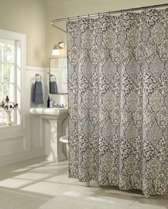 Istanbul Microfiber Shower Curtain