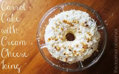 Carrot cake with cream cheese icing - The Learner Observer