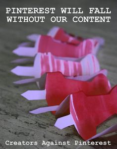 Pinterest Will Fall Without Our Content by Los Amigos Del Fuego, via Flickr