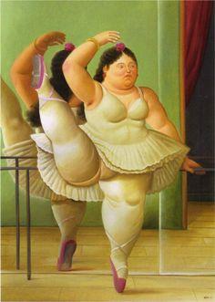 Artips - 'Une danseuse pas comme les autres', Botero. ( Gracias Cat)