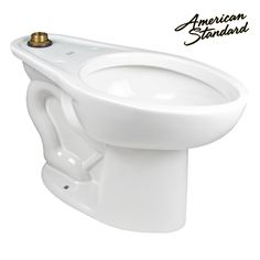 American Standard Elongated ADA Toilet Bowl Featuring a Water Saving 1.0-1.6 GPF Flush.  Compare more units at store.equiparts.net