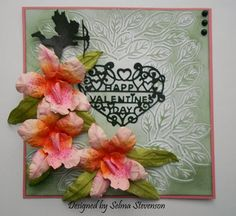 Selma's Stamping Corner and Floral Designs: Susan's Garden Cattleya