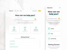 HelpCenter by Tomasz Zagórski on Dribbble Web Design, App Ui Design, Email Design, Email Application, Ui Website, Ui Design Inspiration, Daily Inspiration, Daily Ui, Online Blog