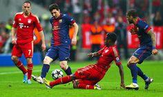 Messi con el Bayern