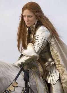 Elizabeth 1ère Reine d'Angleterre (1533 - 1603) incarnée par Cate Blanchett dans le film éponyme de Shekhar Kapur (2007). http://hypathie.blogspot.fr/2011/01/elizabeth.html