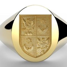 Ring Bear, Family Crest, Crests, Wax Seals, Gravure, Signet Ring, Coat Of Arms, Luxury Jewelry, Monogram