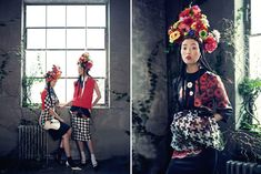 'Room with a garden' photographed by Bo Lee for Vogue Korea February 2013.
