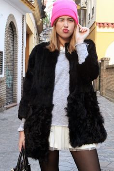 toks: Tulle + fur #kissmylook