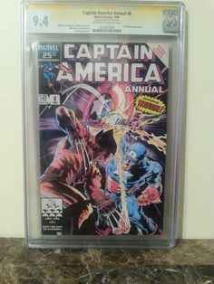 Uploading CGC Graded books. $100 FREE SHIPPING. Captain America Annual #8 Signature Series 9.4. Michael Zeck signature. Payment via PayPal only and U.S. shipping only. #cgc #cgcsignatureseries #cbcs #wolverine #captainamerica #zeck #comicsforsale #comicbooksforsale