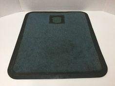 Vintage 1970s Cadillac Floor Mat Emblem 15x17 inches #Cadillac