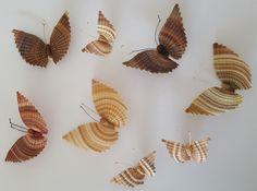 Mariposas de Rari en Chileraices.cl #hechoamano #hechoenchile #handmade #chileanhandcraft  #artesania Cl, Creativity, Butterflies, Hand Made