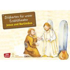 jesus segnet die kinder: bildkarten von don bosco medien für das kamishibai. format: din a3