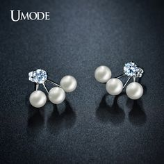 UMODE Double Sided Simulated Pearl Stud Earrings Jewelry For Women Rhodium plated Ear Jacket Earrings Fashion Brinco AJE0255B     Tag a friend who would love this!     FREE Shipping Worldwide     Buy one here---> http://jewelry-steals.com/products/umode-double-sided-simulated-pearl-stud-earrings-jewelry-for-women-rhodium-plated-ear-jacket-earrings-fashion-brinco-aje0255b/    #cheap_necklaces