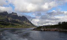Norway Coast | raftsundet norwegian coastal voyage on the hurtigruten ms midnatsol by ...