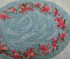Embroidered Katie Arthur miniature needle by DollhouseLittles, $49.00