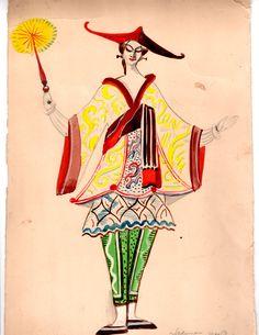 Ballet Russe costume design