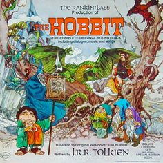 Soundtrack LP for the Hobbit animated Rankin-Bass film.