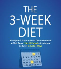 This is my personal experience with the 3 Week Diet