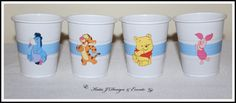 Winnie the Pooh & Friends Cup Stickers #Winnie #The #Pooh #Friends #Tigger #Eeyore #Piglet #Baby #Cute #Shower #Red #Boy #Girl #Unisex #Shower #Birthday #Bunting #Party #Decorations #Ideas #Banners #Cupcakes #WallDisplay #PopTop #JuiceLabels #PartyBags #Invites #KatieJDesignAndEvents #Personalised #Creative