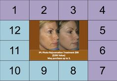 7th Day of Christmas: IPL Photo Rejuvenation Treatment ONLY $99 ($295 value) IPL is an ideal treatment for skin care concerns ranging from redness, light acne scars and rosacea to broken capillaries and hyper pigmentation. May purchase up to 3 treatments. Call or stop by to take advantage of this sweet deal!!! 913.681.6200