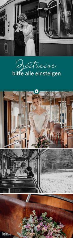 Zeitreise, bitte alle Einsteigen! Vintage spielt mit den Stilen aus vergagener Zeiten. Shabby Chic oder Materialien wie grobe und feine Spitze, Leinen, Holz kombiniert mit frischem Grünzeug sind auf vielen Vintage Hochzeiten zu sehen. Lasst euch hier inspirieren!