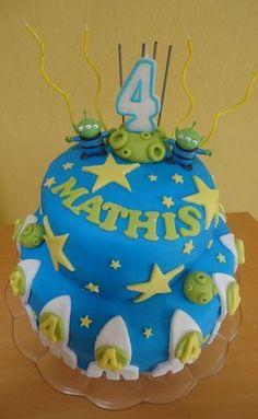 gâteau mathis 4 ans