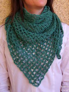 Espacio Crochet: Chal punto salomón