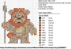 Ewok - Star Wars pattern by carand88 on DeviantArt