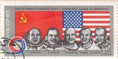 """URSS 1975 """"Soyuz e Apollo"""" 10 kopeks"""