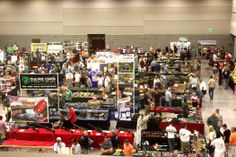 The Exhibit Hall of the Utah Valley Convention Center during the Utah Valley Gun Show in July 2013