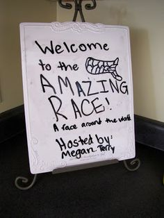 Millions of Miles: Our Amazing Race Birthday Party!