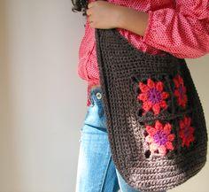 Yarning: Granny square bag