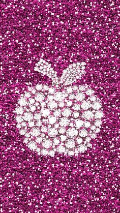 Luxury lifestyle is a social statement. Pink Apple Wallpaper Iphone, Bling Wallpaper, Wallpaper Iphone Disney, Iphone Wallpapers, Cute Backgrounds, Wallpaper Backgrounds, Pink Patterns, Pink Love, Girly