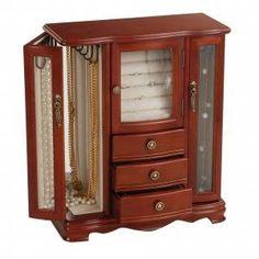 Jewelry Boxes At Kohl's Mele & Cotrinity Burlwood Oak Jewelry Boxmele$9500Size 13