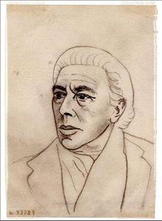 Self Portrait By André Breton ,1896