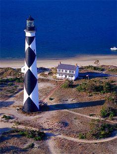 Cape Lookout Lighthouse . . . on the beautiful Crystal Coast of North Carolina