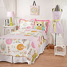 image of Lolli Living™ by Living Textiles Baby Twin Bedding Collection - Lovebird/Tigerlily