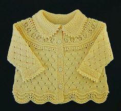 Ravelry: Jacket, pants, hat, socks, blanket pattern by DROPS design Baby Sweater Patterns, Baby Cardigan Knitting Pattern, Knit Baby Sweaters, Girls Sweaters, Baby Knitting Patterns, Baby Patterns, Knitted Baby, Baby Knits, Pants Pattern