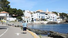 Cadaques, Spain #travel #destination Cadaques Spain, Spain Travel Guide, Fishing Villages, The Province, Beautiful Architecture, Local Artists, Over The Years, Coast, Street View