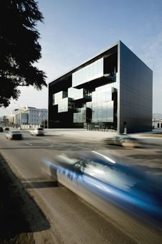 Office Building Tbilisi Prosecutors Office / Architects of Invention Architecture Office, Amazing Architecture, Contemporary Architecture, Architecture Design, Chinese Architecture, Futuristic Architecture, Installation Architecture, Architecture Interiors, Amazing Buildings