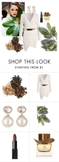 """""""luxe"""" by obsessedwithnicestuff ❤ liked on Polyvore featuring Samira 13, NARS Cosmetics and Burberry"""