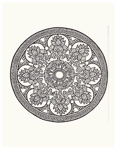 """7 of Arts: Lindos mandalas charts. 