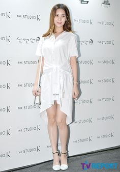 SNSD's SeoHyun shines in her all white outfit at The Studio K's event