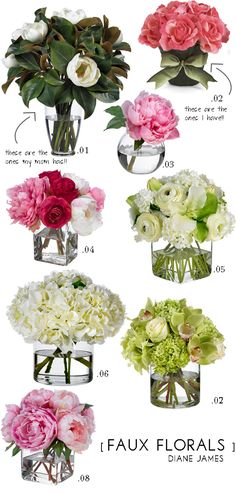 The Best Faux Flowers - Promise! - Mimosa Lane