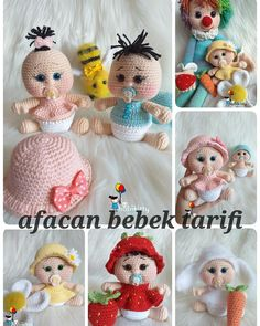 23 Clever DIY Christmas Decoration Ideas By Crafty Panda Easter Crochet Patterns, Crochet Dolls Free Patterns, Crochet Doll Pattern, Doll Patterns, Crochet Baby Toys, Cute Crochet, Baby Stella Doll, Knitted Dolls, Stuffed Toys Patterns